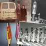 Mathmos Astrobaby lava lamp - Vintage 60s