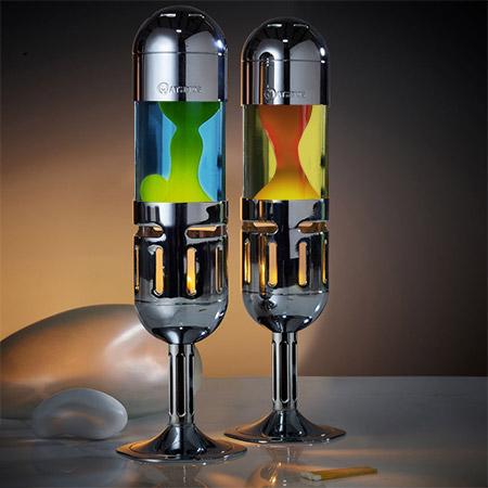 Pod + candle lava lamp