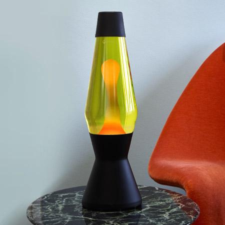 Astro lava lamp: Black